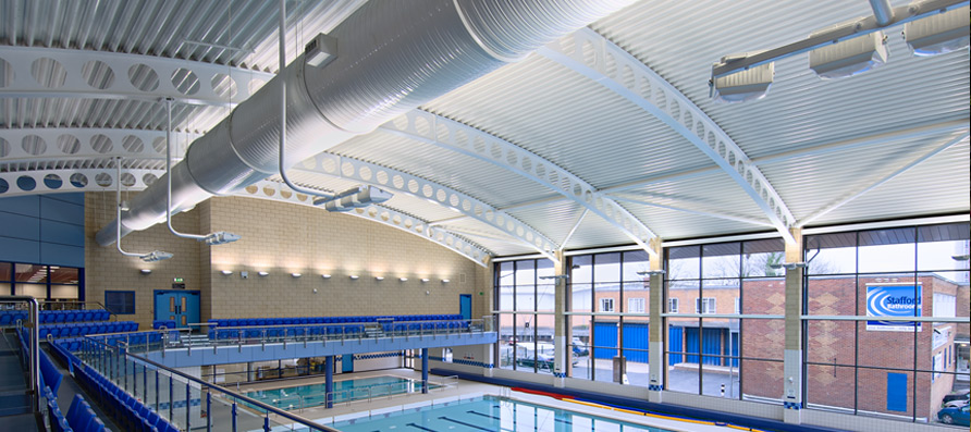 stafford leisure centre norcros adhesives