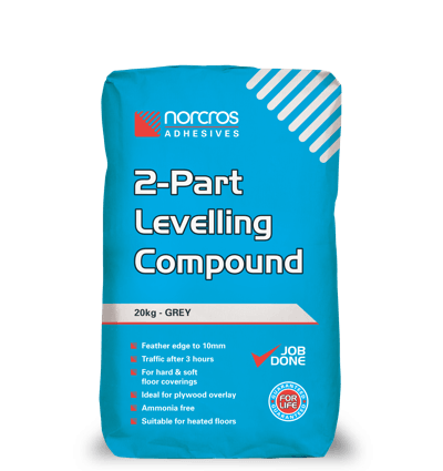 2-Part Levelling Compound - Grey