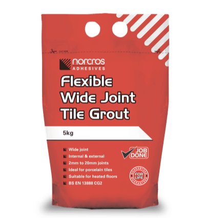 Flexible Wide Joint Tile Grout Norcros Adhesives