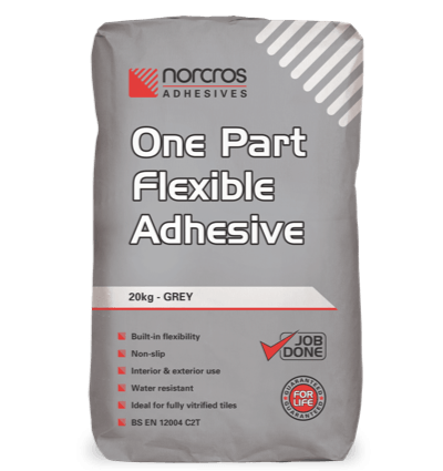 One Part Flexible Adhesive - Grey