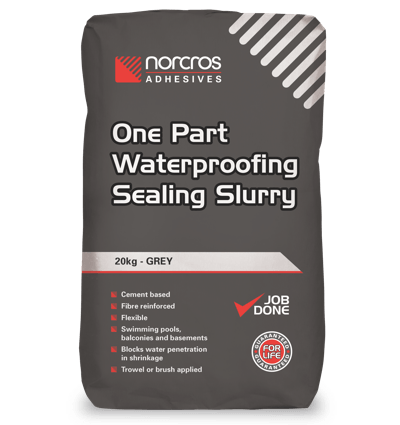 One Part Waterproofing Sealing Slurry - Grey