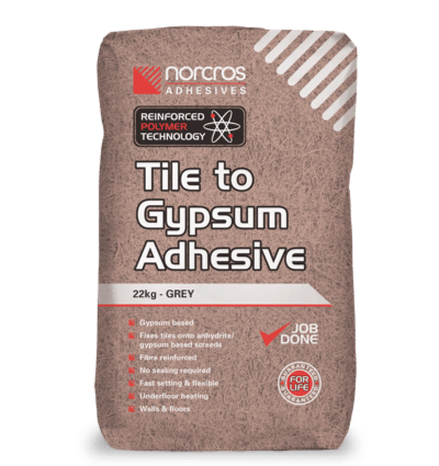 Tile to Gypsum Adhesive - Grey