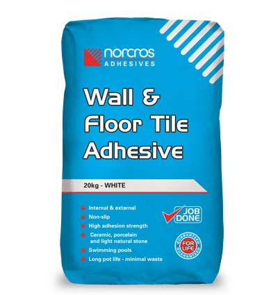 Wall and Floor Tile Adhesive - White