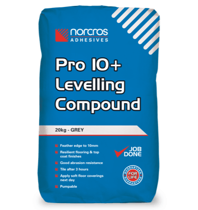 Pro 10+ Levelling Compound - Grey
