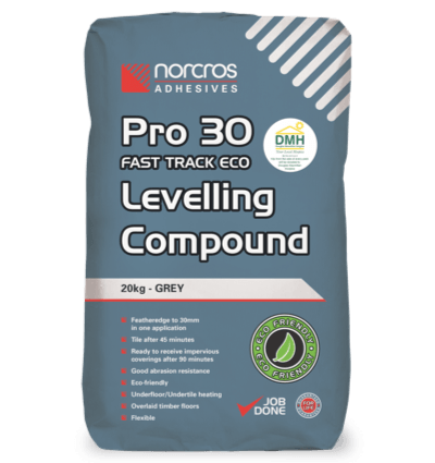 Pro 30 Fast Track Eco Levelling Compound - Grey