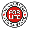 Guaranteed For Life badge