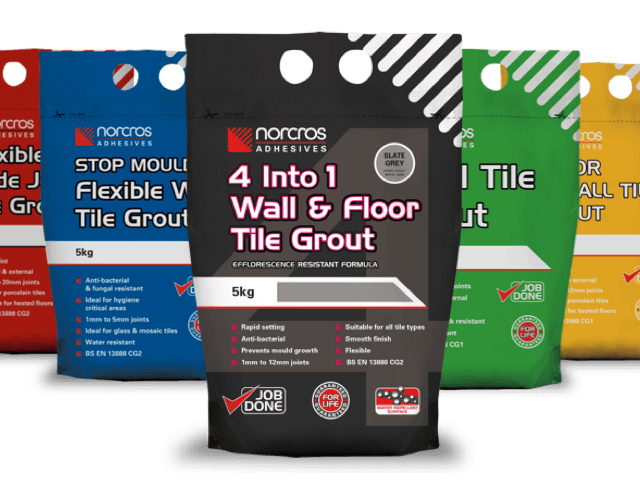 Tile Grout & Sealants
