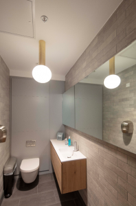 Toilet Tiles and Adhesives